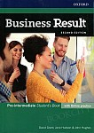 Business Result 2nd edition Pre-intermediate Student's Book with Online Practice