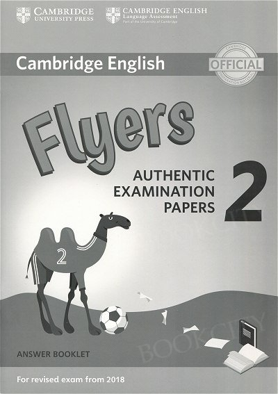 Cambridge English Flyers 2 (2018) Answer Booklet