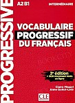 Vocabulaire progressif du Francais 3e edition Intermediaire Podręcznik +CD