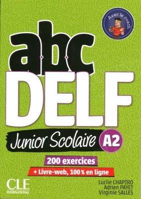 ABC Delf Junior Scolaire A2 Książka + DVD + zawartość online
