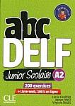 ABC Delf  Junior Scolaire.  Livre de l'eleve A2 Książka + DVD ROM