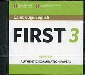 Cambridge English First 3 FCE (2018) CD-Audio