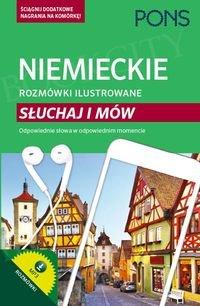 Niemieckie rozmówki ilustrowane Słuchaj i mów
