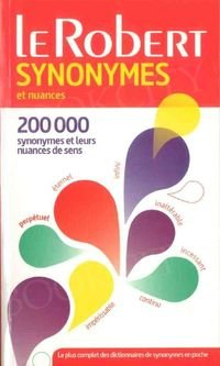 Synonymes et nuances poche