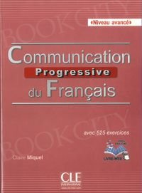 Communication progressive avance 2ed Książka + CD