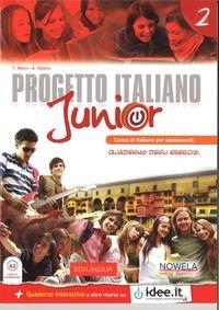 Progetto Italiano Junior 2 ćwiczenia