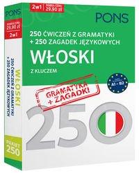 Włoski. 250 ćwiczeń z gramatyki + 250 zagadek językowych