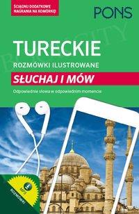 Turecki rozmówki ilustrowane Słuchaj i mów