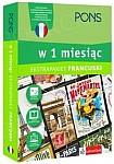 Francuski w 1 miesiąc z 3 tablicami językowymi i kursem online