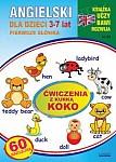 Angielski dla dzieci 3-7 lat Zeszyt 23 Ćwiczenia z kurką Koko