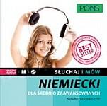 Słuchaj i mów Niemiecki dla średnio zaawansowanych dla średnio zaawansowanych + CD (poziom A2+/B1)