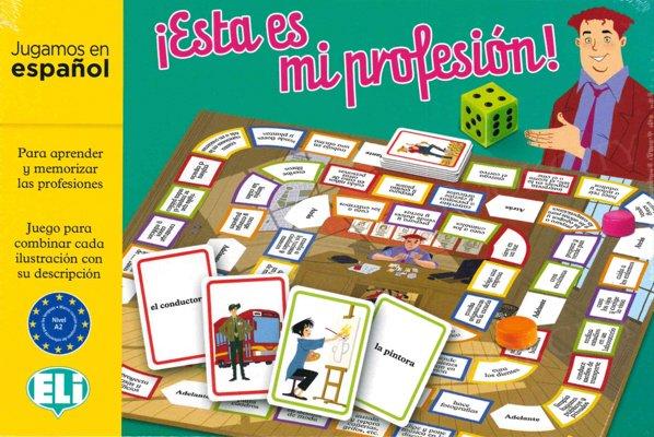 ¡Esta es mi profesión! Gra językowa z polską instrukcją i suplementem