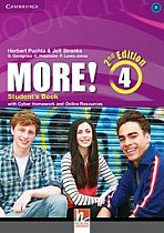 MORE! 4 Student's Book with Cyber Homework and Online Resources