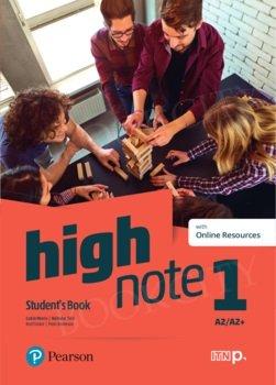 High Note 1 Teacher's Book plus płyty audio, DVD-ROM i kod dostępu do Digital Resources