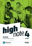 High Note 4 Workbook + kod (MyEnglishLab + Online Practice)