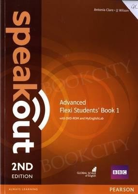 Speakout Advanced (2nd edition) Student's Book Flexi 1 with MyEnglishLab