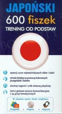 Japoński 600 fiszek Trening od podstaw Fiszki + program + mp3 online
