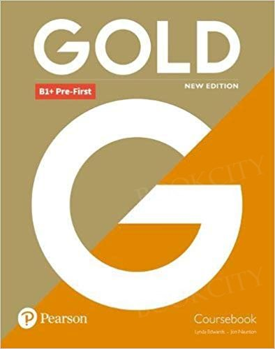 Gold B1+ Pre-First New Edition podręcznik