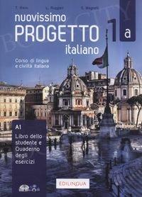 Nuovissimo Progetto italiano 1A Podręcznik + ćwiczenia + CD + DVD