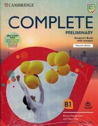 Complete Preliminary (2nd edition) Self Study Pack (SB with Answers w Online Practice and WB with Answers w Audio Download and Class Audio)