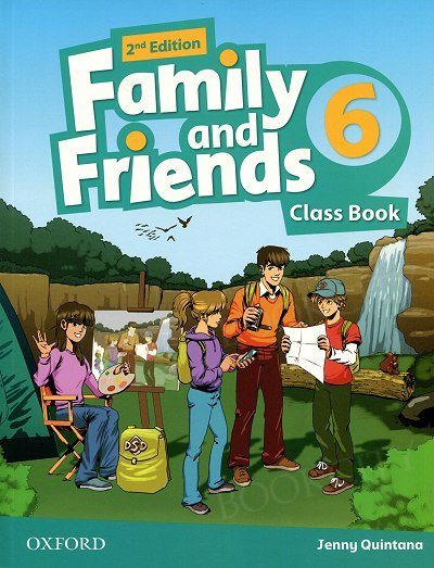 Family and Friends 6 (2nd edition) Class Book