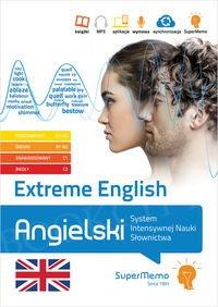 Extreme English Angielski System Intensywnej Nauki Słownictwa (poziom podstawowy A1-A2, średni B1-B2, zaawansowany C1 i biegły C2) Książka + kod dostępu