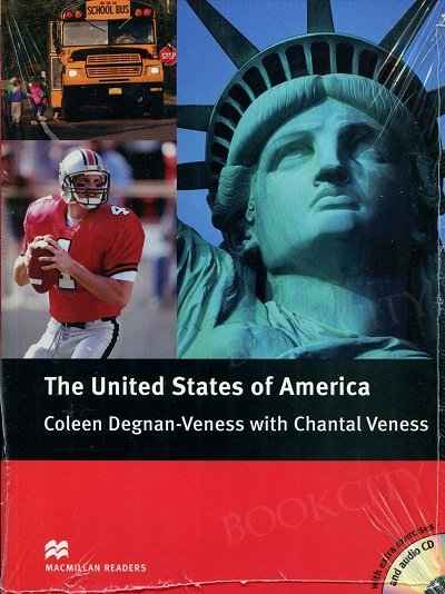 The United States of America (poziom pre-intermediate) new edition Book+CD Pack