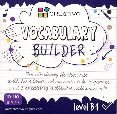 Vocabulary builder Level B1 Karty językowe