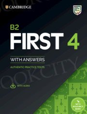 Cambridge English First 4 FCE (2020) Self Study Pack (Student's Book with Answers with Audio with Resource Bank)