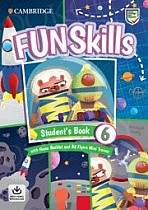 Fun Skills Level 6 Flyers Student's Book with Home Booklet and Mini Trainer with Downloadable Audio