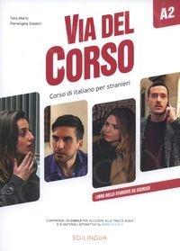 Via del Corso A2 Podręcznik + ćwiczenia + audio online