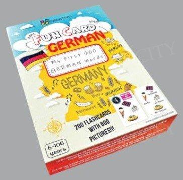 XXL Fun Card German My First 600 Words