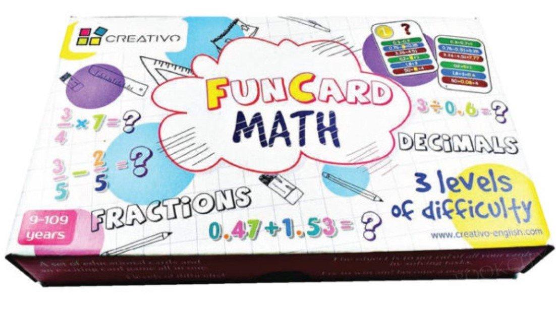 Fun Card Math ułamki