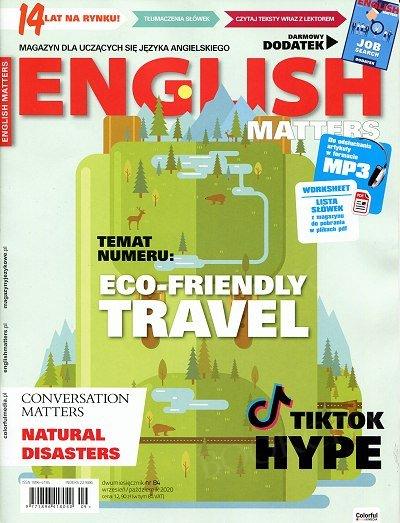 English Matters - Magazyn dla uczących się języka angielskiego numer 84 - wrzesień - październik 2020
