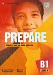 Prepare B1 Level 4 Student's Book with Online Workbook