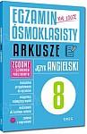 Egzamin ósmoklasisty - Arkusze Książka + kody QR