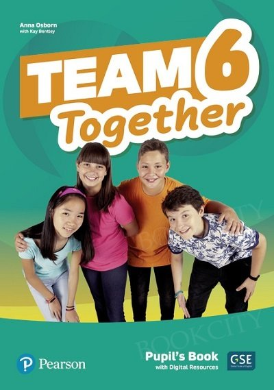 Team Together 6 Pupil's Book with Digital Resources