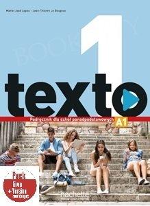 Texto 1 (szkoły ponadpodstawowe) Podręcznik + Audio Online + kod (podręcznik online)