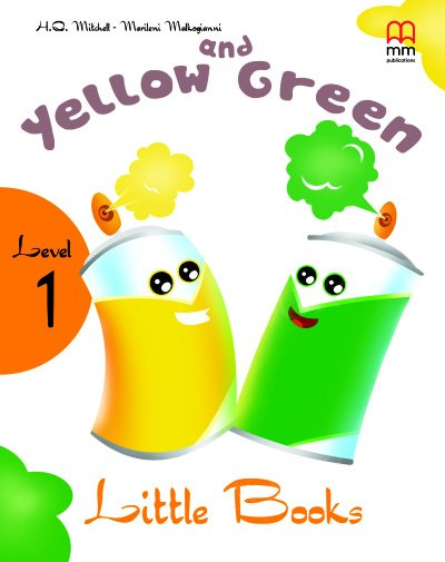 Yellow and Green Book with CD