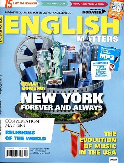 English Matters - Magazyn dla uczących się języka angielskiego numer 88 maj - czerwiec 2021