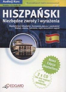 Hiszpański. Niezbędne zwroty i wyrażenia Nowa Edycja Książka + CD
