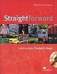 Straightforward Intermediate Student's Book + CD-ROM Pack