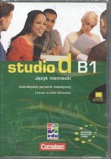 studio d B1 Unterrichtsvorbereitung interaktiv CD (Interaktywny poradnik metod.)
