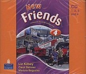 New Friends 4 Audio CD