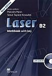 Laser B2 (New Edition) Workbook with Key & Audio CD