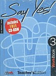 Say Yes! To English 3 Workbook Teacher's Edition