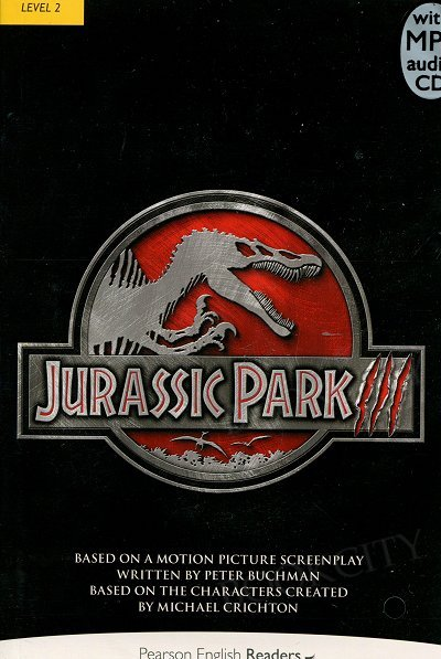 Jurassic Park III Book plus mp3