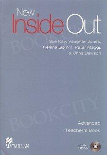 New Inside Out Advanced Książka nauczyciela + Test CD + eBook