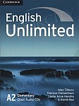 English Unlimited A2 Elementary Class Audio CDs (3)