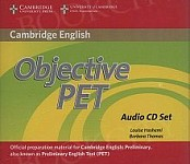 Objective PET 2nd edition Audio CDs (3)